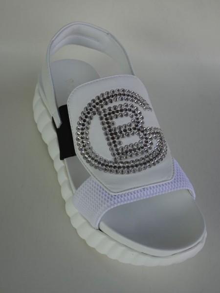 Damenschuh - sandale bianco