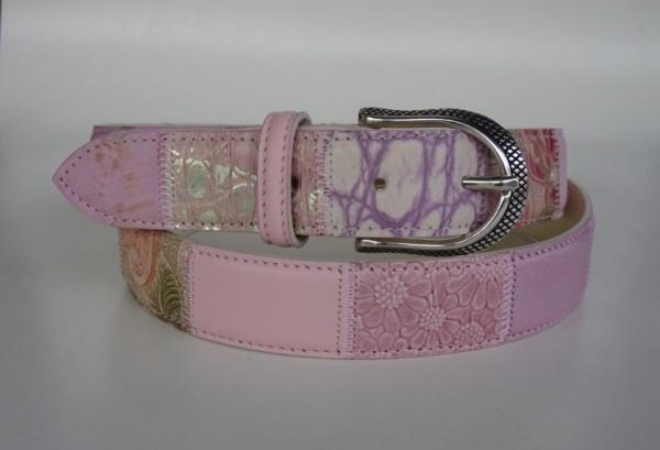 Damengürtel - rosa diverse