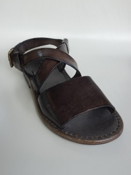 Herrenschuh - sandalo antracite