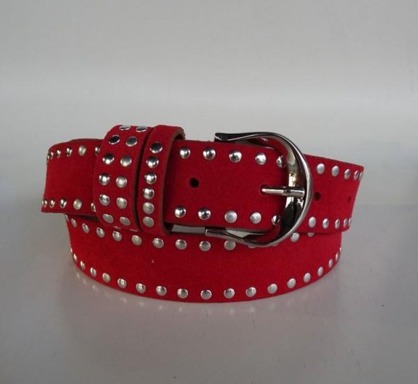 Damengürtel - rosso