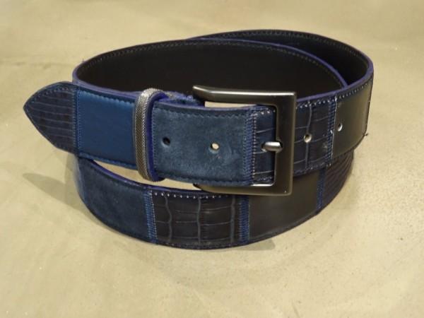 Herrengürtel - blu