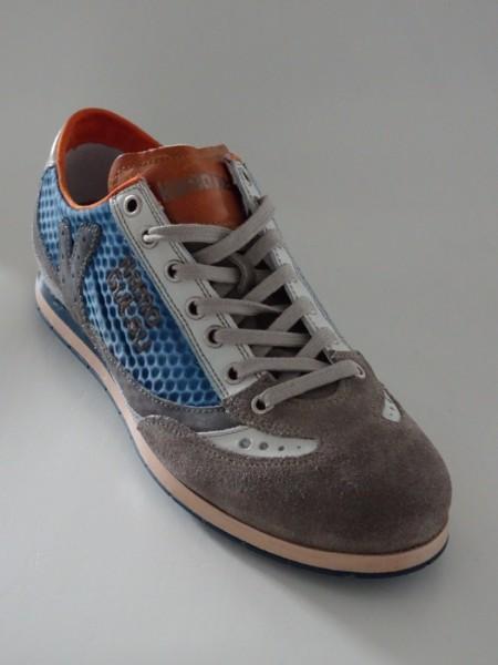 Herrenschuh - grigio, blu, bianco