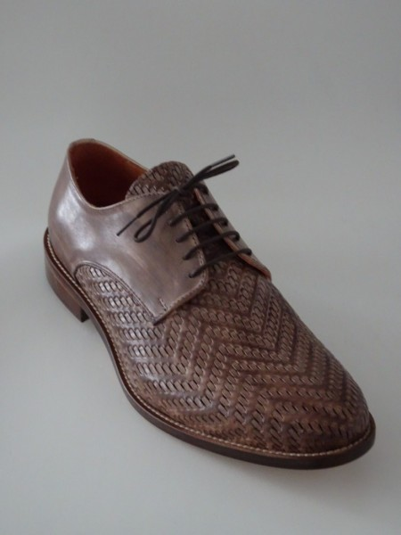 Herrenschuh - vitello lux marrone