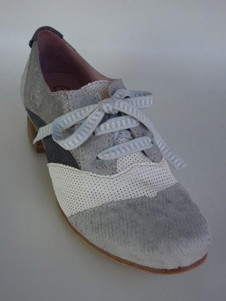 Damenschuh - grigio blu bianco