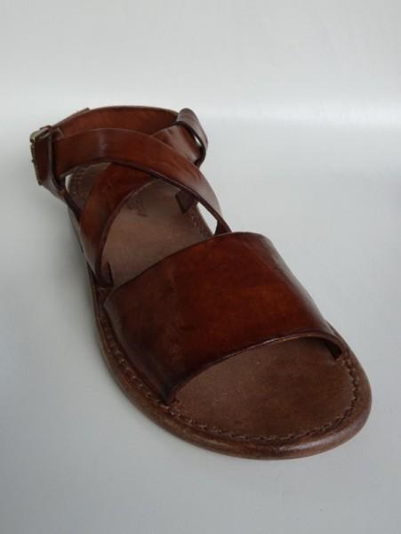 Herrenschuh - sandalo cognac