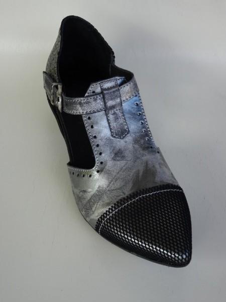 Damenschuhe - argento nero