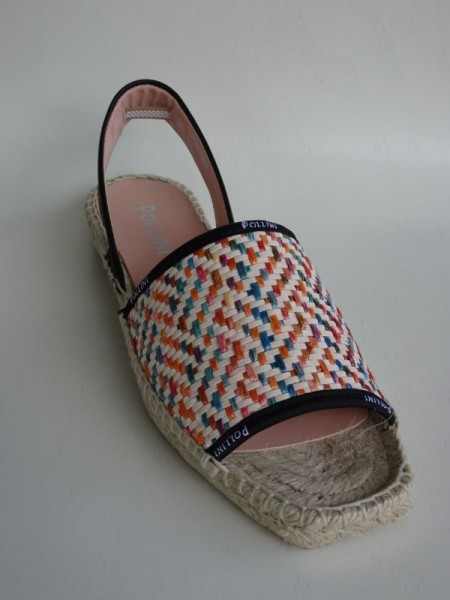 Damenschuh - Espadrille multicolor