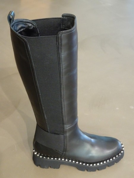 Damenschuh - glove stivali nero