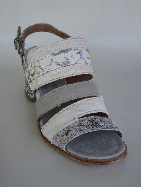 Damenschuh - sandali argento sabbia
