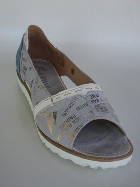 Damenschuh - sandali grigio blu sabbia