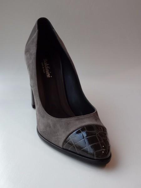 Damenschuh - decolte grigio