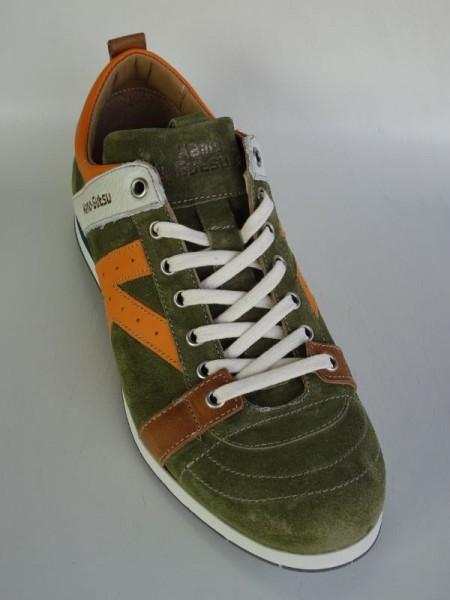 Herrenschuh - kaki arancio