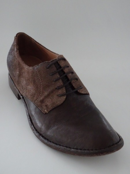 Herrenschuh - bufalo marrone scuro