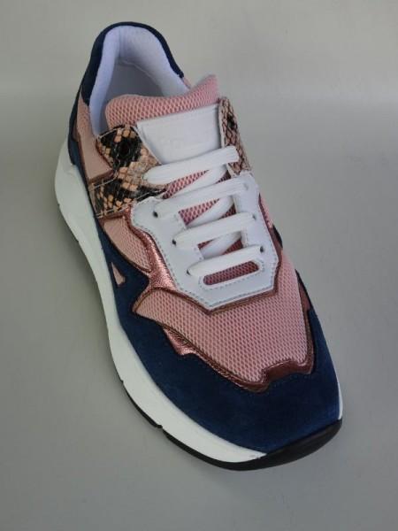 Damenschuh - Sneaker salmone blu