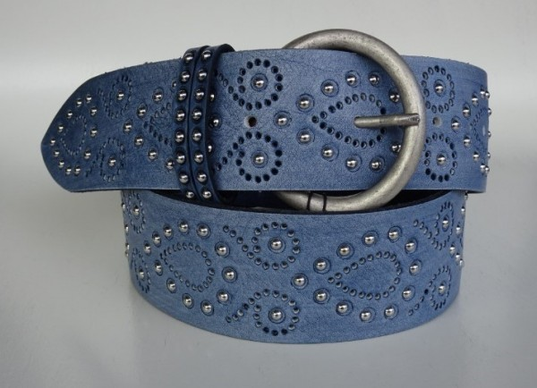 Damengürtel - blu