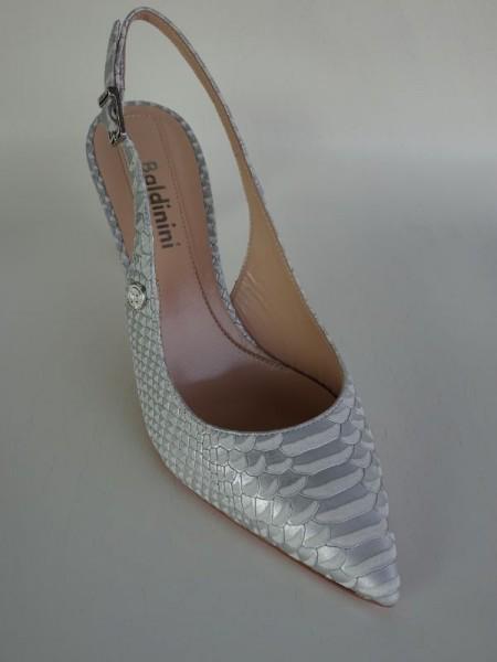 Damenschuh - chanel grigio bianco