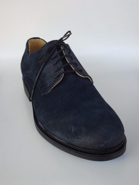 Herrenschuh - camoscio blu