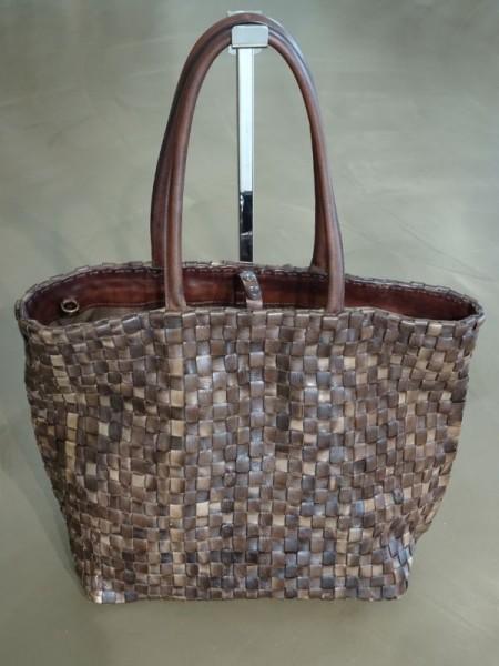 Damentasche - intreccio fango
